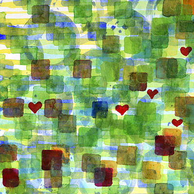 The Power Of Love Print by Heidi Capitaine