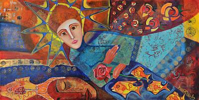 the Prayer Original by Jeanett Rotter