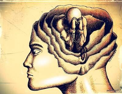 The Prejudice Is Still There In Unconscious Original by Paulo Zerbato