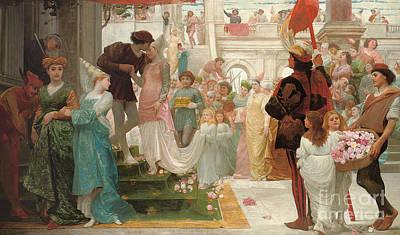 The Prince's Choice Print by Thomas Reynolds Lamont