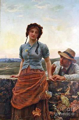 The Proposal Print by Frederick Morgan