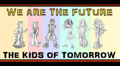 The Proud Kids Of Tomorrow 2 Print by Shawn Dall