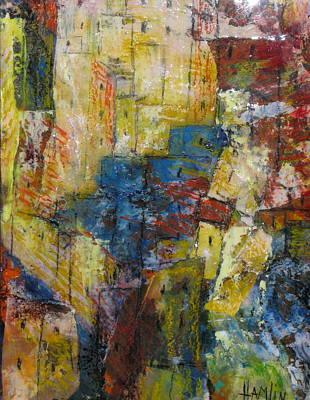 Marcelle Hamelin Mixed Media - The Provence by Marcelle Hamelin