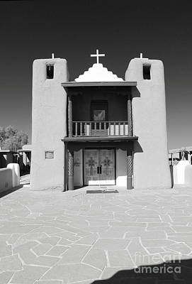 The Pueblo Church Print by Christiane Schulze Art And Photography