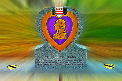 1st Base Photograph - the Purple Heart by Francisco Colon