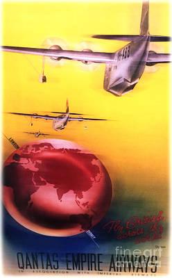 The Qantas Empire  Print by Steven  Digman