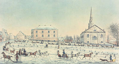 The Quebec Driving Club  Print by William Wallace