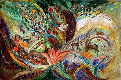 Painting - The Queen Of Sheba by Elena Kotliarker