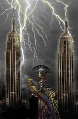 Pheasant Digital Art - The Rainmaker by Larry Butterworth