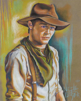 To Heal Painting - The Ranch Hand  by Nicole Fisher