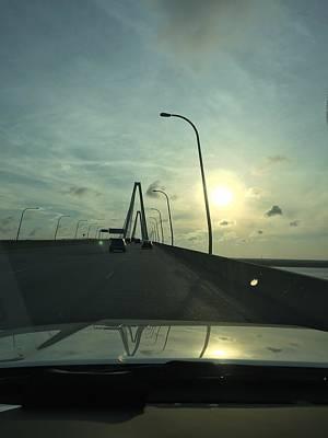 Photograph - The Ravenel Bridge Charlestonsc  by C F  Legette