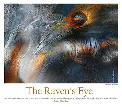 The Raven's Eye Print by Bob Salo