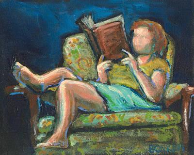 The Reader Print by Buffalo Bonker
