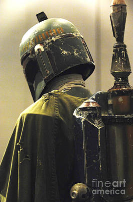 Helmet Photograph - The Real Boba Fett by Micah May