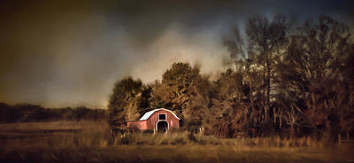 Barn In Tennessee Photograph - The Red Barn Welcomes Autumn by Jai Johnson