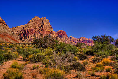 Old West Photograph - The Red Rock Canyon At Bonnie Springs Ranch by David Patterson