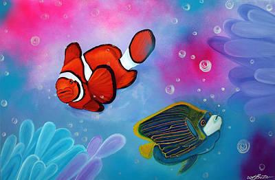 The Reef Print by Laura Barbosa