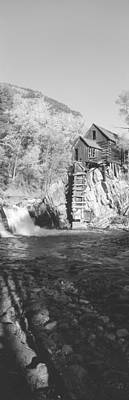 The River Mill At Crystal River Valley Print by Panoramic Images