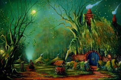 Tolkien Painting - The Road To Bree by Joe Gilronan