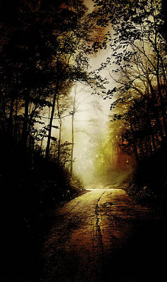 Eerie Photograph - The Road To Hell Take II by Scott Norris