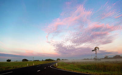 The Road To Morning Print by Odille Esmonde-Morgan