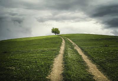 The Road To Tree Original by Bess Hamiti