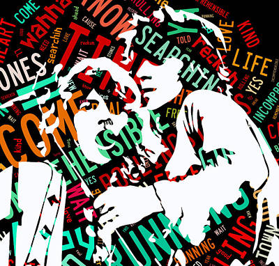 The Rolling Stones Time Is On My Side Print by Marvin Blaine