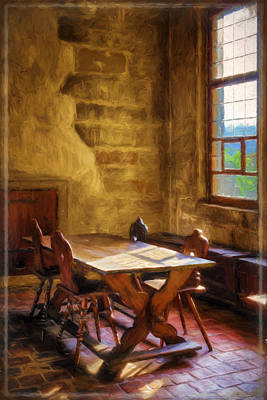 The Room On The Side II Print by Joan Carroll