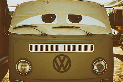 The Say Eyed Volkswagen  Print by Mountain Dreams