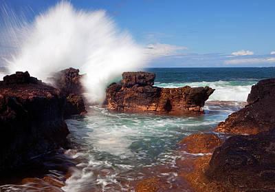 The Sea Explodes Original by Mike  Dawson