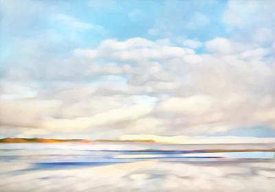 Abstract Photograph - The Seaside by Theresa Tahara