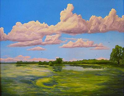 The Sheboygan Marsh Original by Daniel W Green