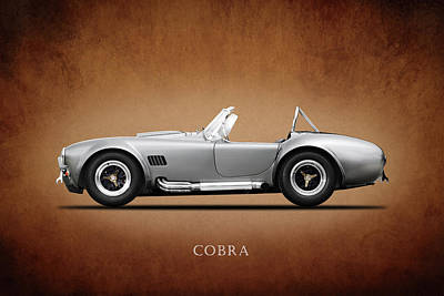 Cobra Photograph - The Shelby Cobra by Mark Rogan