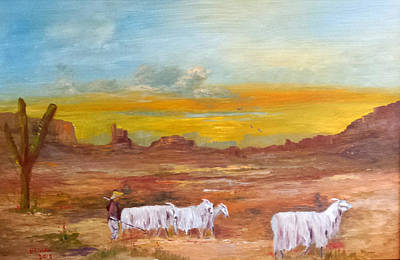 The Shepherd  Print by Bryan Benson