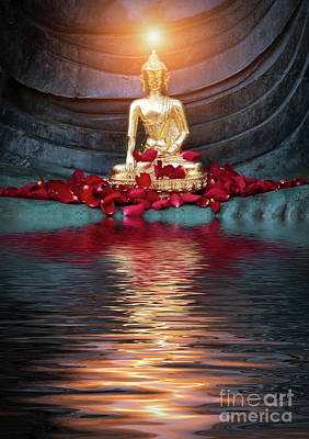Buddhism Photograph - The Shining One by Tim Gainey