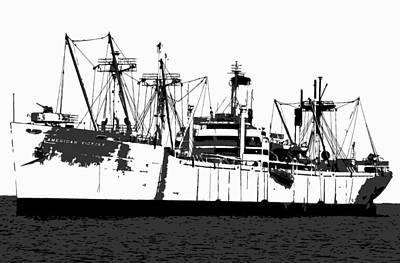 The Ship Print by David Lee Thompson