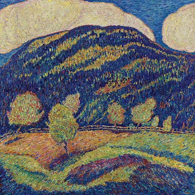 Marsden Hartley Painting - The Silence Of High Noon by Marsden Hartley