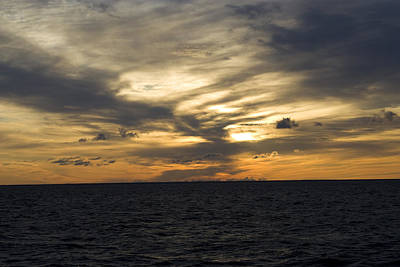 Merchant Mariners Photograph - The Sky Burns by Tim  Telep
