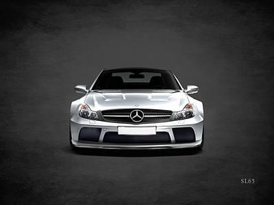 Mercedes Benz Photograph - The Sl65 by Mark Rogan