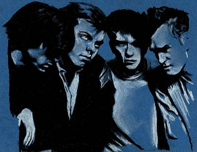 Morrissey Drawing - The Smiths by Teresa Beveridge