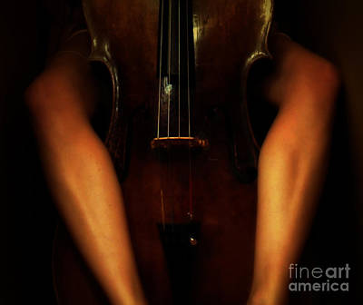 The Sound Of Eroticism   Print by Steven  Digman