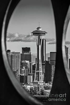 The Space Needle Print by Jamie Pham
