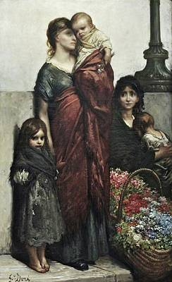 Flower Painting - The Spanish Flower Seller by Edwin Long