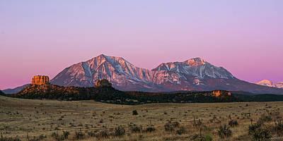 The Spanish Peaks Print by Aaron Spong