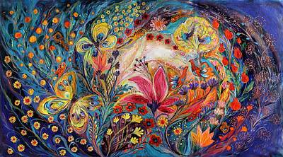 Painting - The Spiral Of Life by Elena Kotliarker