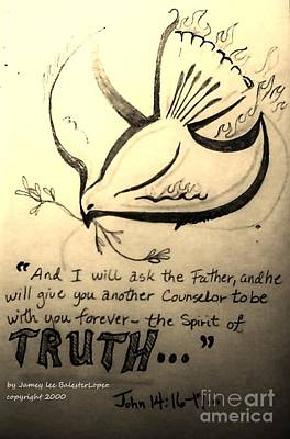 The Spirit Of Truth Print by Jamey Balester