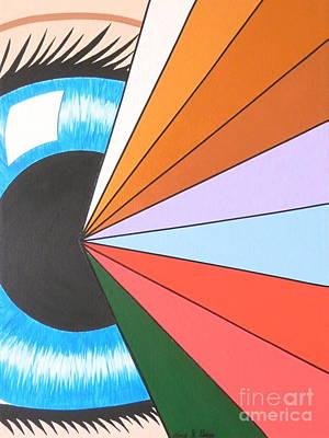 Etc. Painting - The Spiritual Eye by Teresa St George