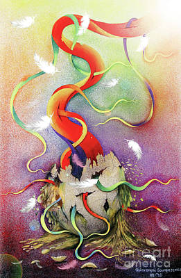 Painting - The Spiritually Explosion by Fine art Photographs