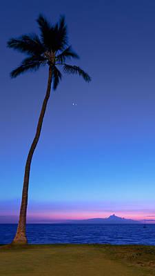 The Star Of Bethlehem Sunset Print by Susan Rissi Tregoning
