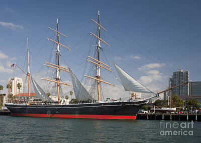 Windjammer Photograph - The Star Of India Is The Worlds Oldest by Michael Wood